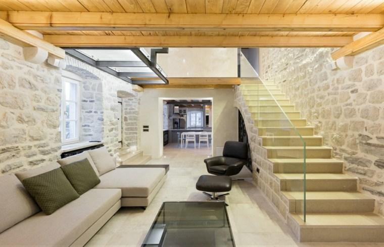 villa monja cocina salon moderno