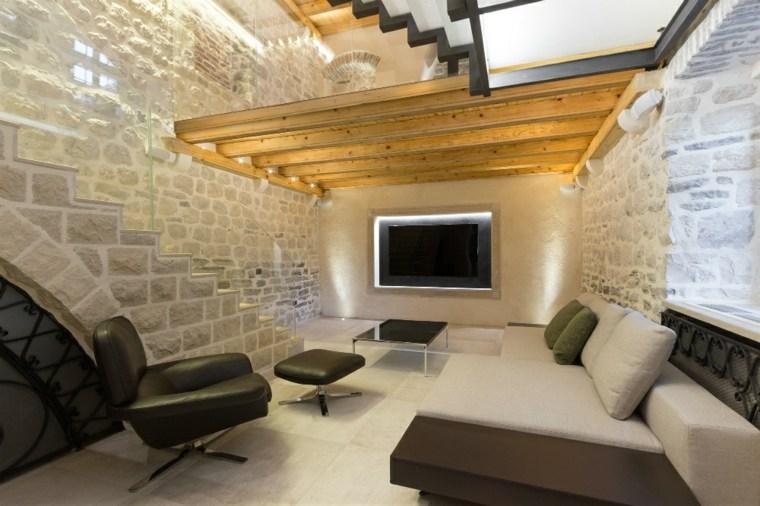 villa monja pared salon moderno