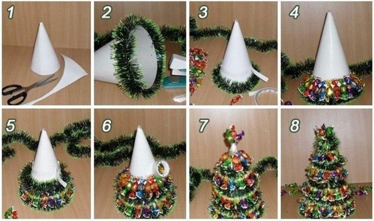 Decoracion Navidena Manualidades En Familia 24 Ideas - Decoraciones-de-navidad-manualidades