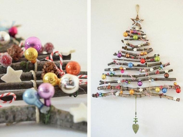 adornar un árbol de navidad original interior