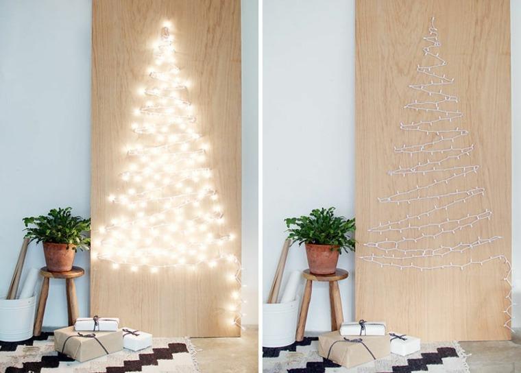 adornar un árbol de navidad original