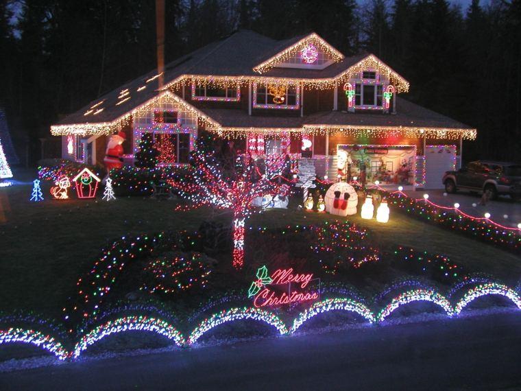 adornos navideños para exteriores decorar