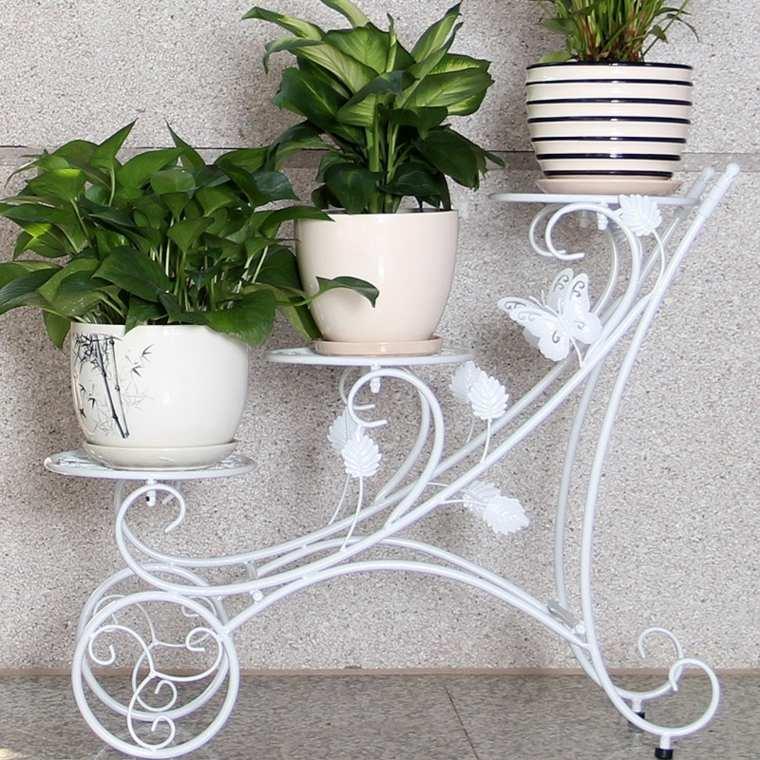 Decorar con macetas ideas para decorar macetas for Adornos pared metal