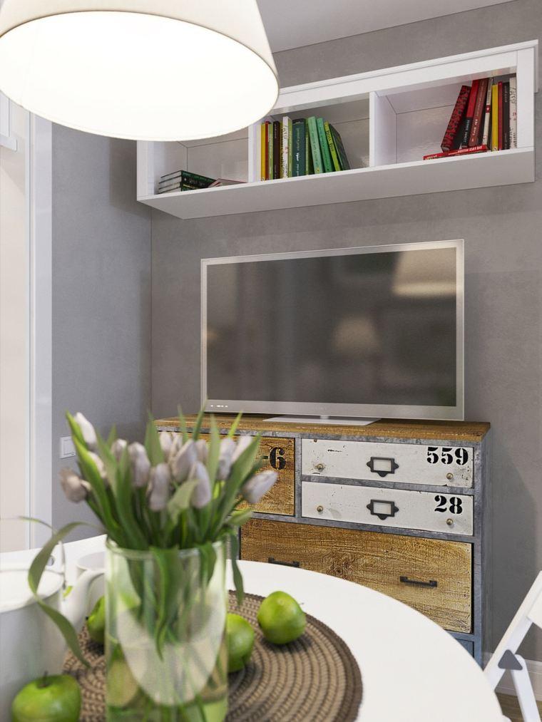 almacenamiento mueble superiores estilo claras