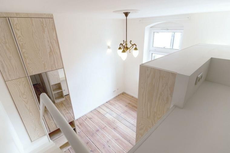 apartamento Berlin blanco madera
