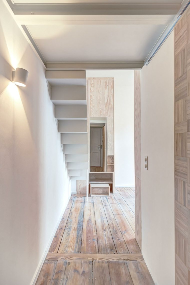 apartamento pequeño Berlín dsieño