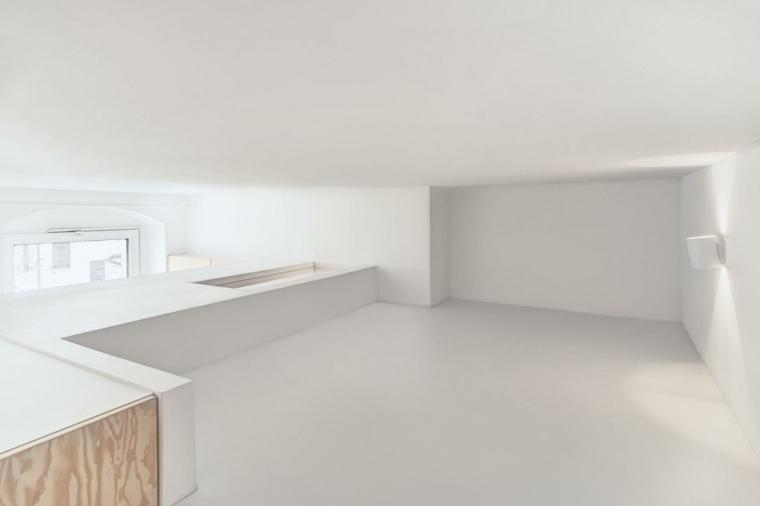 apartamento berlin sala blanca