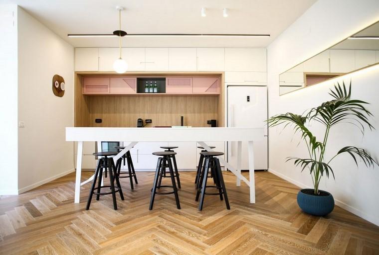 apartamento pequeno diseno abierto dori interior design ideas