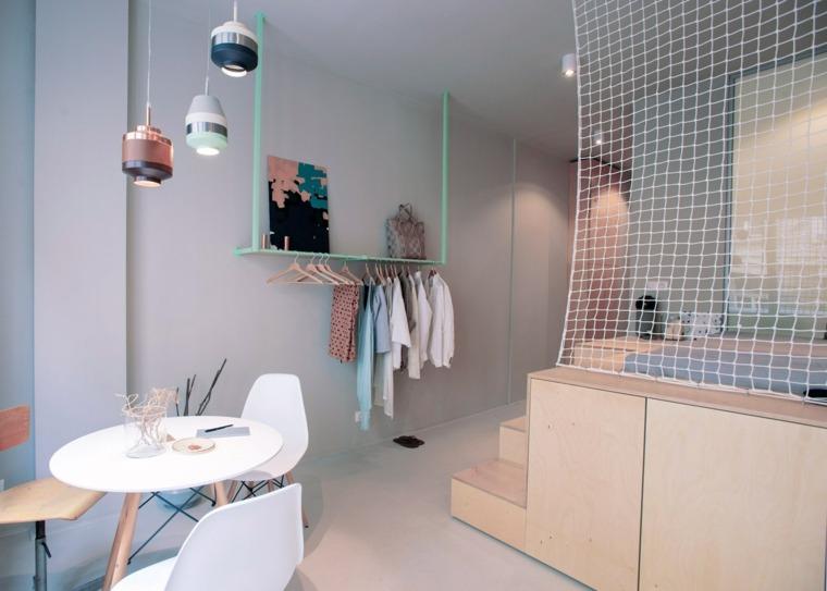 Decoracion pisos pequeños   menos es más