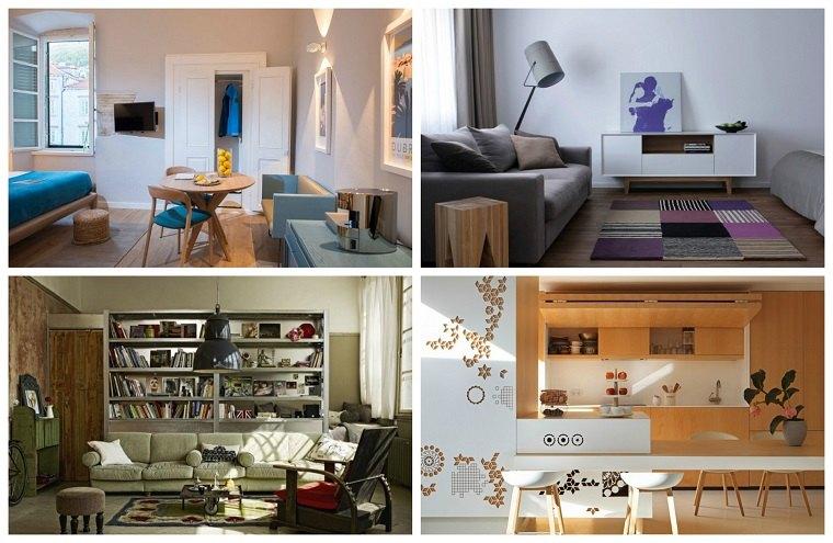 apartamentos pequenos disenos originales ideas