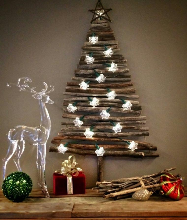 Rboles de navidad originales para el interior for Arbol interior