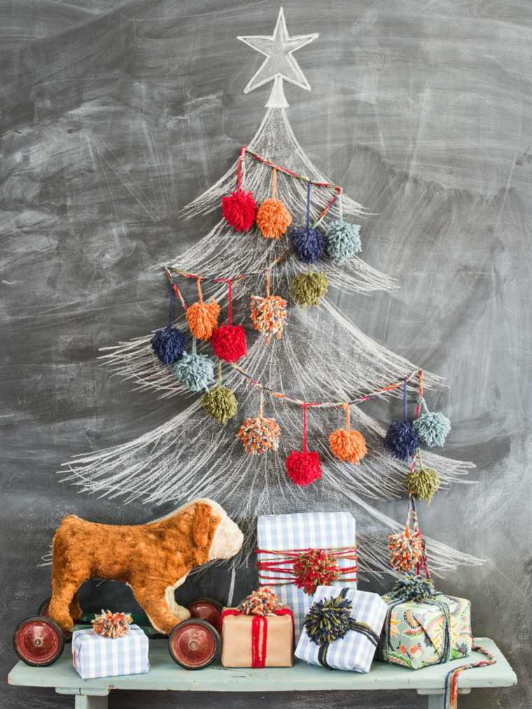 árboles de navidad originales alternativos