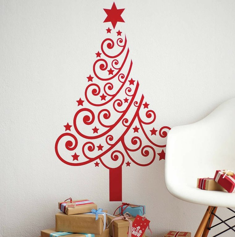 rboles originales de navidad decorar