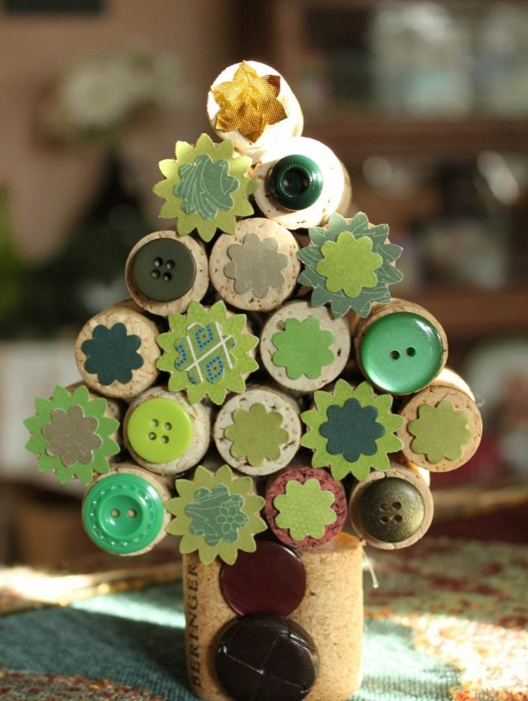 arbolito pequeno adorno navideno verde ideas