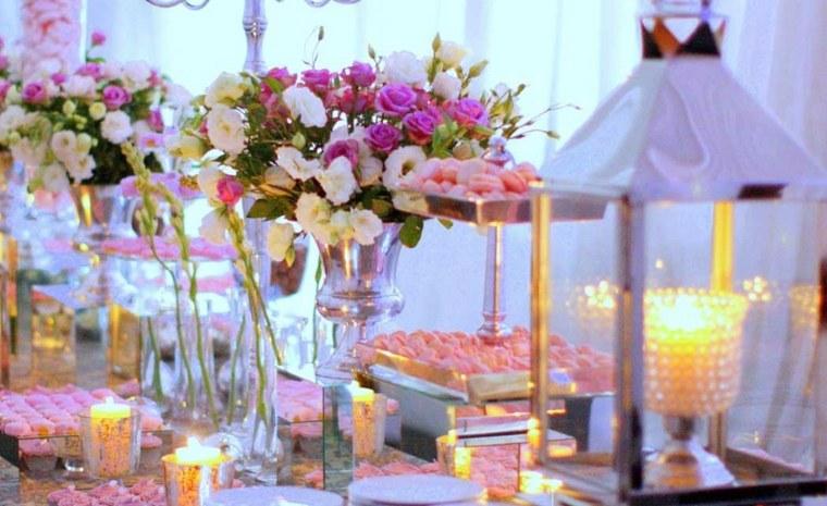 arreglos florales para bodas decoración mesa