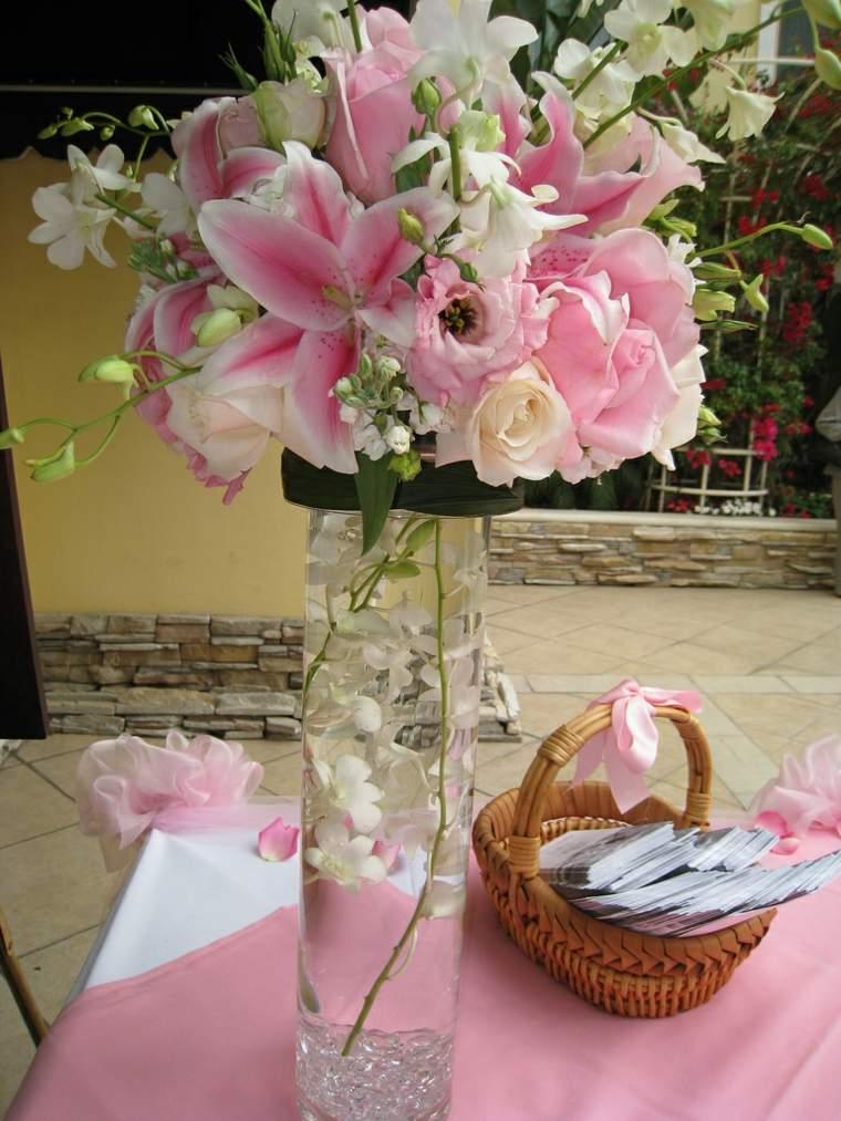 arreglos florales para bodas decoración mesas