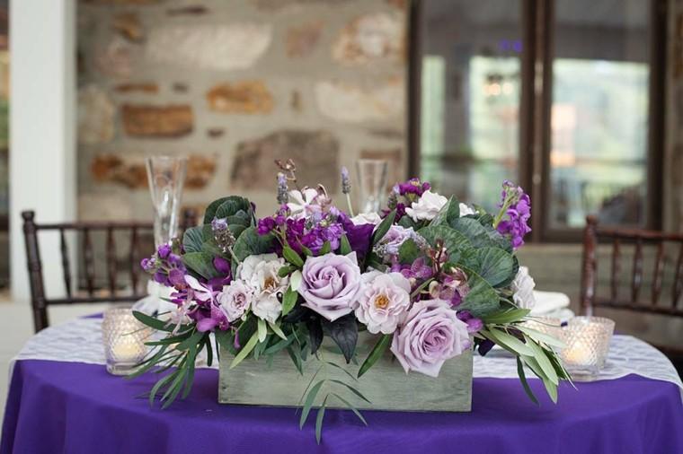 arreglos florales para bodas decorar