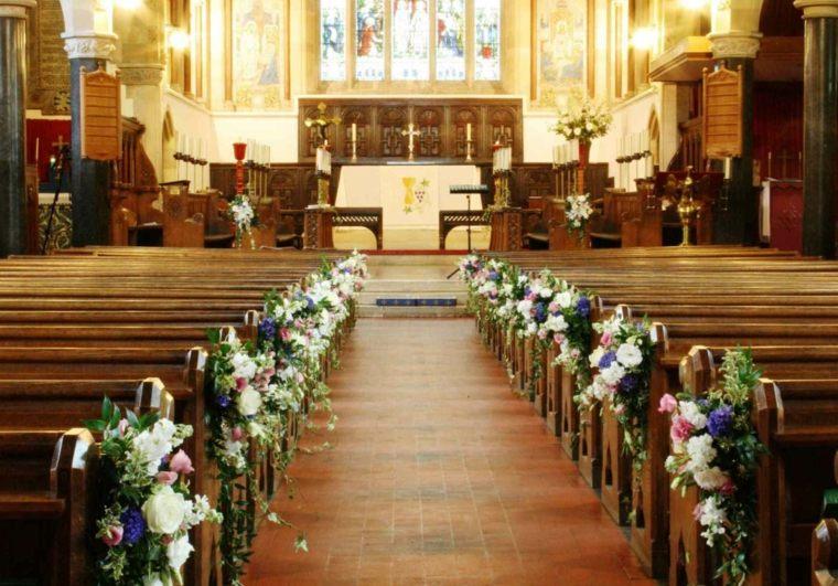 arreglos florales para bodas iglesias