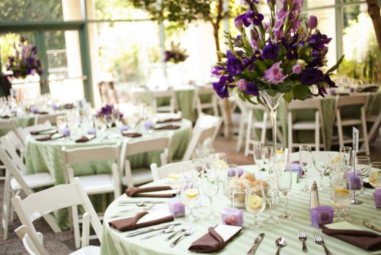 arreglos florales para bodas mesa