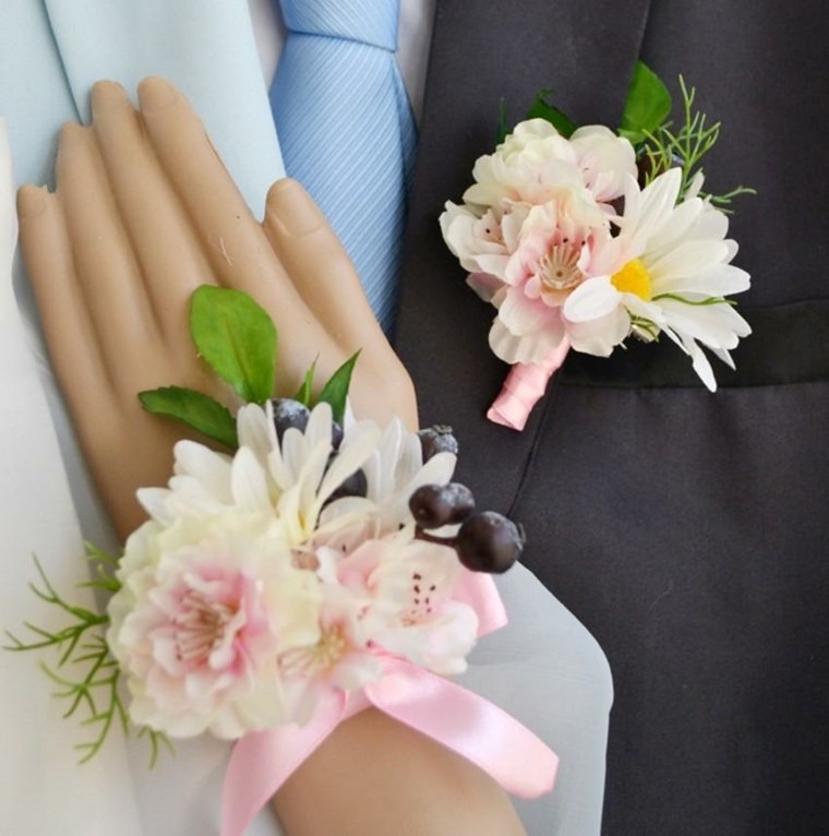 arreglos florales para bodas novia