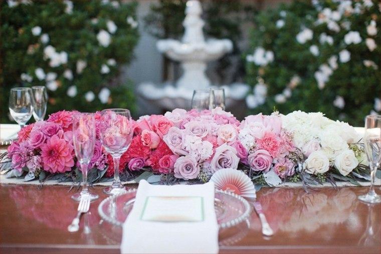 arreglos florales para bodas para decorar mesas