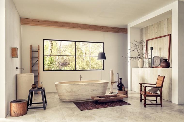 baños con encanto especiales muebles relajacion