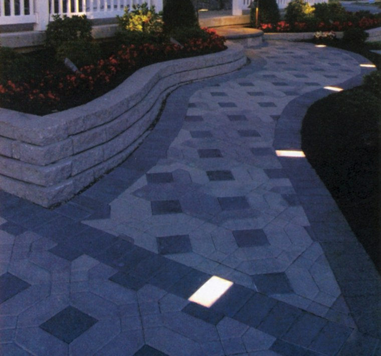 originales baldosas de suelo con luces led