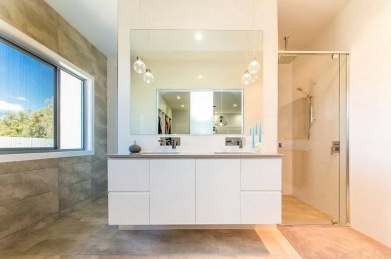 banos con ducha diseno ideas originales modernas