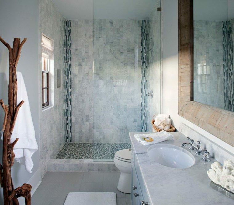 banos con ducha diseno opciones espacios estrechos ideas