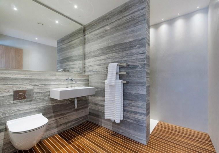 banos con ducha diseno separada pared ideas