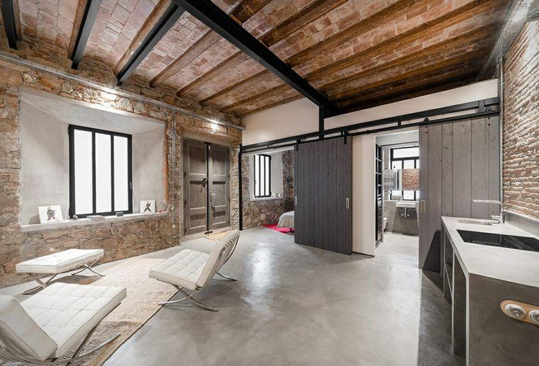 barcelona diseño loft industrial