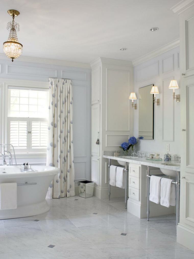 blanco acero inoxidable estantes calidos
