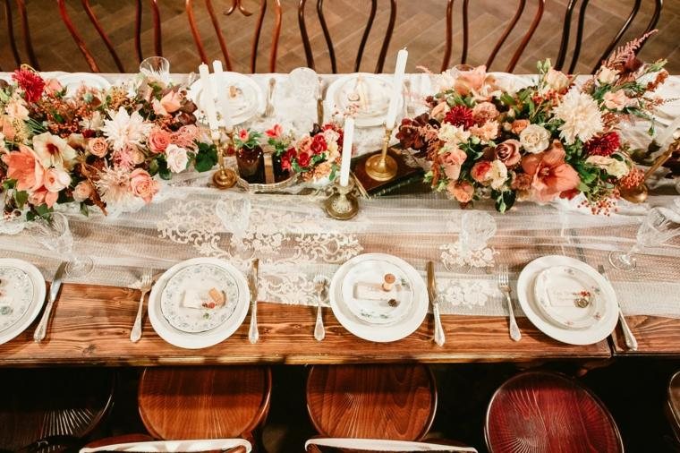 boda invierno estilo decoracion vintage ideas