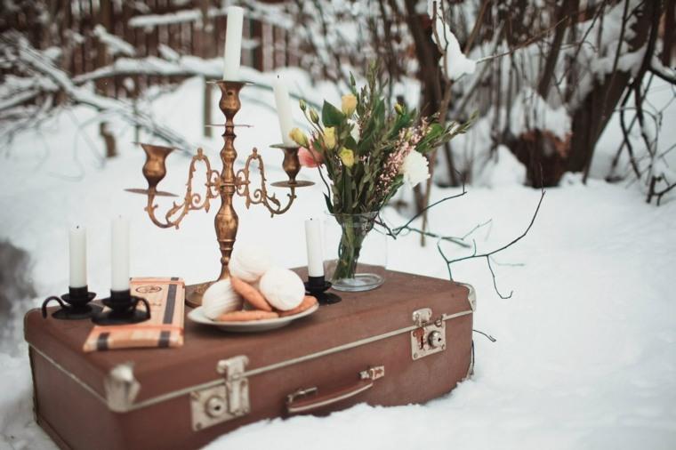bodas originales invierno decoracion bella ideas