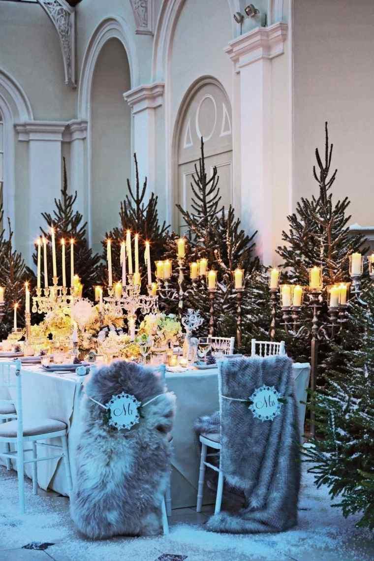bodas originales invierno decoracion estilo moderno ideas