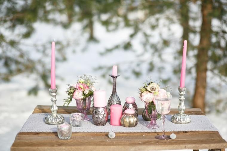 bodas originales invierno decoracion shabby chic ideas