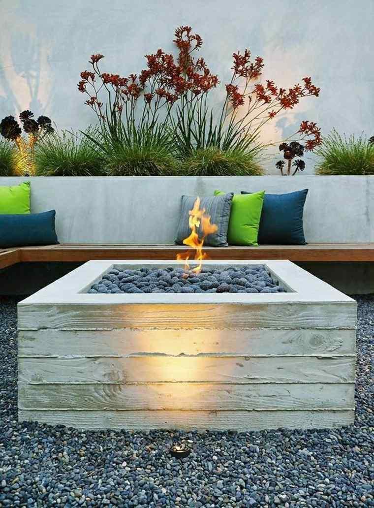 Ideas para decorar un patio de estilo chill - Chimeneas para jardin ...