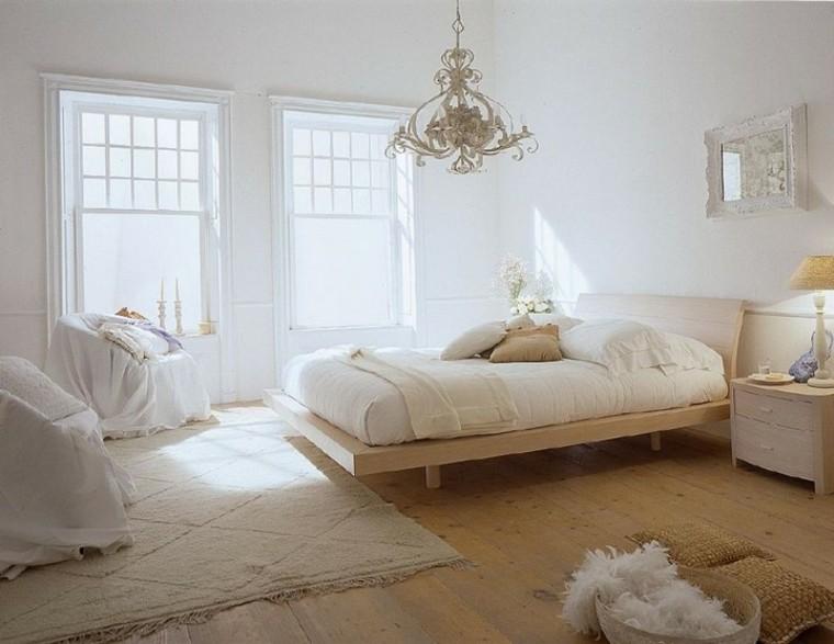 bonita habitación suelo madera