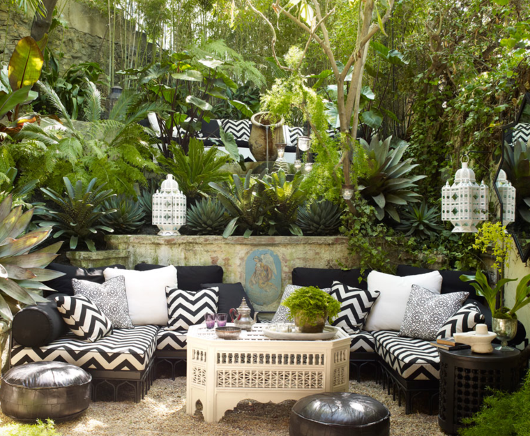 originales ideas para decorar un patio al estilo chill