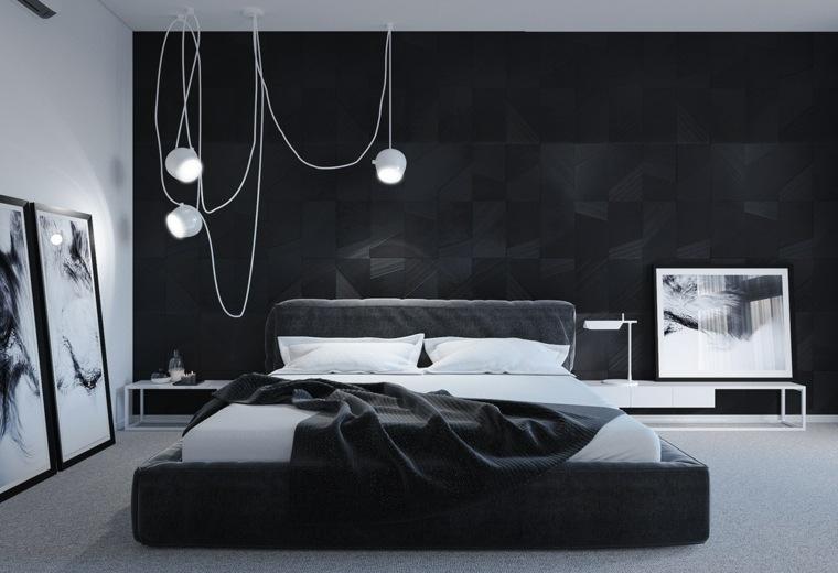 bonito diseño habitación pared acento