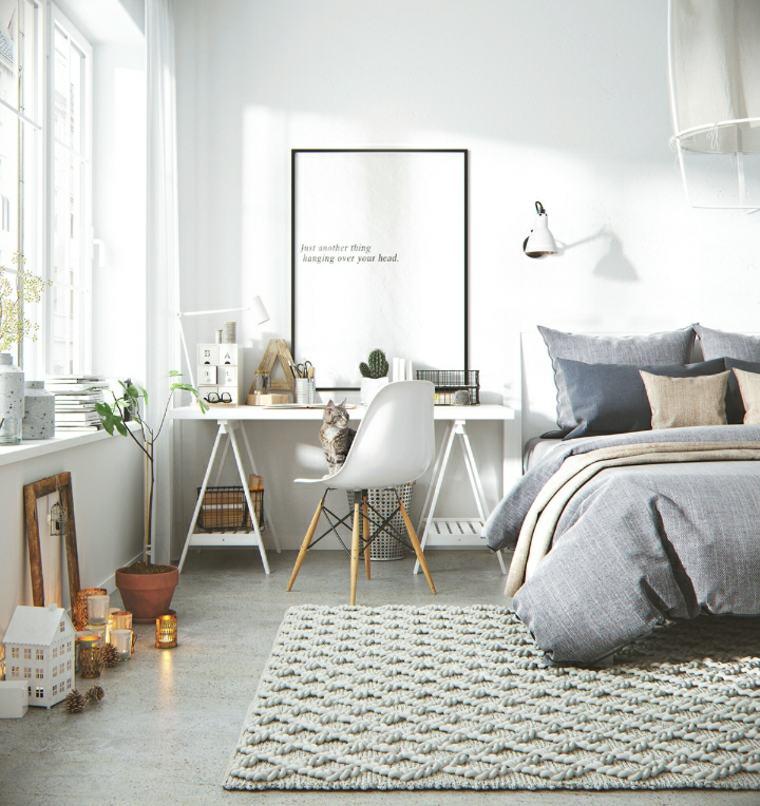 bonita decoración sala habitacion