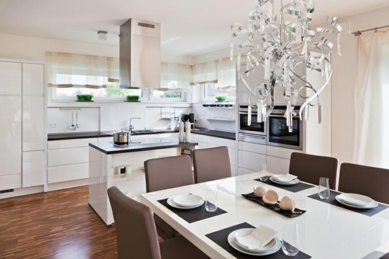 Interior moderno diseno cocina