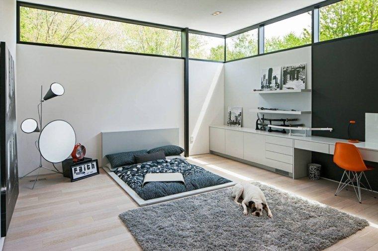 cama-suelo-dormitorio-diseno-moderno