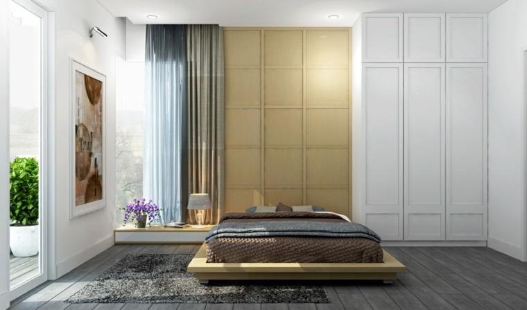 camas de matrimonio bajas diseno inpirador ideas