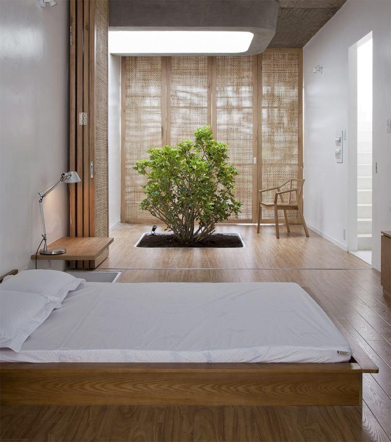 camas de matrimonio bajas diseno japones ideas