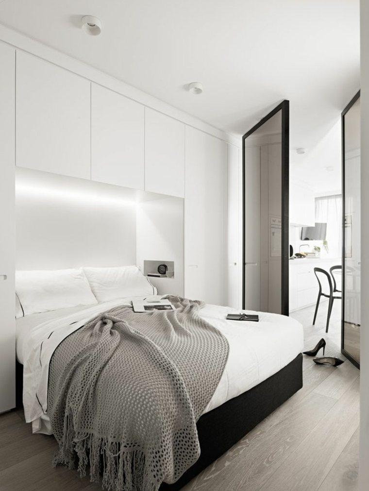 camas modernas espacio