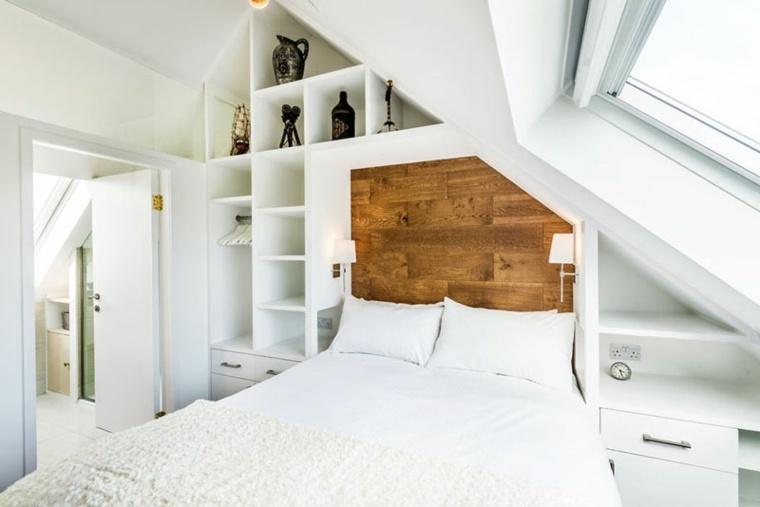 camas modernas habitación