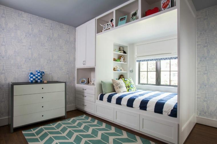 camas para ahorrar espacio