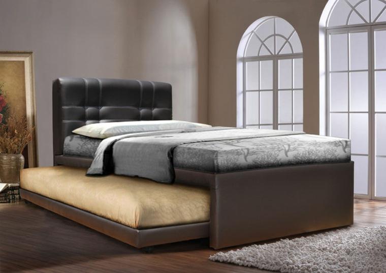 camas para habitaciones pequeñas modernas
