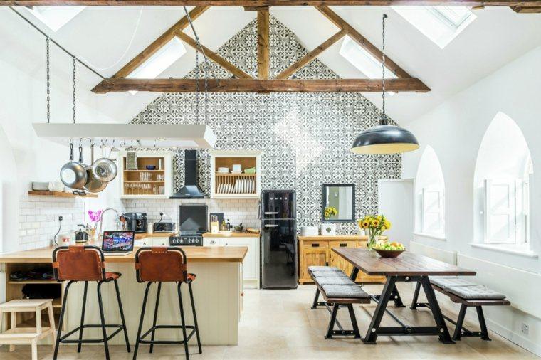 capilla inglesa cocina diseño moderno